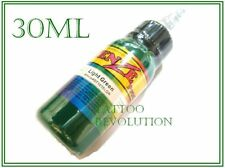 Light Green Tattoo Ink Colour Sterilized 1oz / 30ml