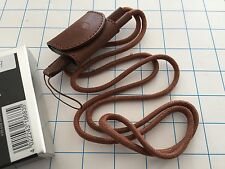 LEICA carrying strap with accessory case, brown, for c-lux 2, ref: 18683 - NEW