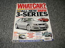 WHAT CAR ?   MAGAZINE  DECEMBER    2004      ENGLISH MONTHLY