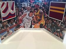 Panini Preferred Booklet One on One Lebron James vs. Blake Griffin