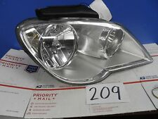 07 08 Pacifica Chrysler PASSENGER Side Halogen Headlight front light #209
