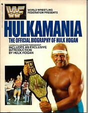 "WWF 1985 Hulk Hogan ""Hulkamania"" WWF Book HOFer 80 Pages Pictures"