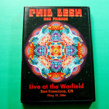 Phil Lesh and Friends Live at the Warfield San Francisco 2006 DVD Grateful Dead