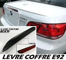 BMW E92 E93 SERIE 3 COUPE CONVERTIBLE 2006-2013 BOOT LIP SPOILER REAR TRUNK