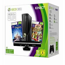 XBOX 360 4GB Kinect Console holiday Bundle 2012 2 GAMES PAL AUS *BRAND NEW!*