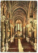 CP 69 RHÔNE - Lyon - Basilique Notre-Dame de Fourvière - La grande Nef et Choeur