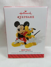 2014 Hallmark Keepsake Ornament Mickey and Pluto Best Pals Loc B42