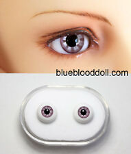 1/3 1/4 bjd 12mm lilac color glass doll eyes dollfie Luts iplehouse #KH-02