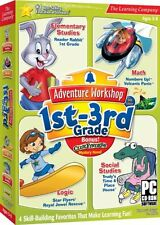 Adventure Workshop 1st-3rd Grade PC Games Window 10 8 7 Vista Computer kid learn