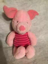 "Disney Winnie The Pooh Friend Piglet Doll Plush Stuffed Animal. 13"" Exclusive."