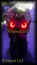 ORACLE Kawasaki ZX12R 00-05 RED LED Headlight Halo Angel Demon Eyes Rings