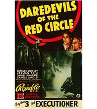 Daredevils of the Red Circle - Cliffhanger Serial Movie DVD Charles Quigley