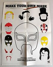 REY MYSTERIO 619 Mask WWE POSTER 21x16 NEW wrestler wwf wrestling roh mexico