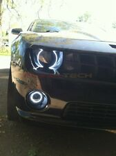 Chevrolet Camaro RS White LED HALO HEADLIGHT and FOG LIGHT KIT (2010-2013)