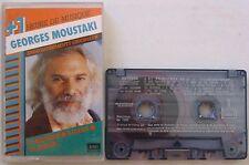 GEORGES MOUSTAKI (K7 AUDIO) ENREGISTREMENTS ORIGINAUX + D'1 HEURE DE MUSIQUE