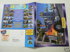 O266 FLYER BROCHURE DUTCH 2 PAGES,KENWORTH W900 B AERODYNE 1982 TRUCK