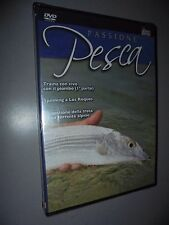 DVD PASSIONE PESCA TRAINA CON IL PIOMBO SPINNING A LOS ROQUES TROTA TORRENTE