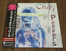 RED HOT CHILI PEPPERS Japan PROMO card sleeve CD mini LP obi MORE LISTED By The