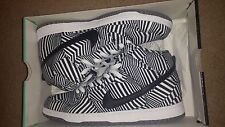 NIKE DUNK HIGH PREMIUM SB 313171 103 WHITE, BLACK DAZZLE CONCEPT CAR ZEBRA SZ 12