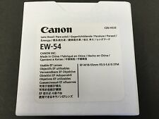 New Canon Lens Hood EW-54 L-HOODEW54 6319B001 EF-M 18-55mm F3.5-5.6 IS STM JAPAN