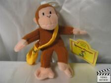 Curious George Mail Man plush finger puppet; Applause NEW