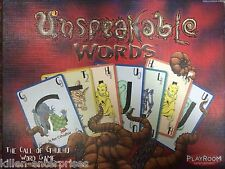 Unspeakable Words: The Call of Cthulhu Word Game Playroom 2007 Edition