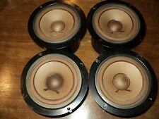 Pioneer CS-88A   Midrange Mid Drivers 12-701F Qty of Four Drivers for one price.