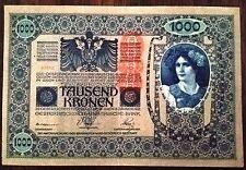 Austria 1000 Kronen 1902 Banknote TAUSEND
