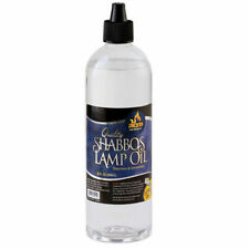 Shabbos Lamp Oil, Clear Liquid Paraffin 32 Oz.- with E-Z Fill Cap - Ner Mitzvah