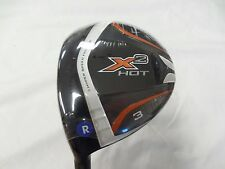 New LH Callaway X2 Hot 15* Fairway 3 Wood Regular flex Aldila Tour Blue X 2 3w