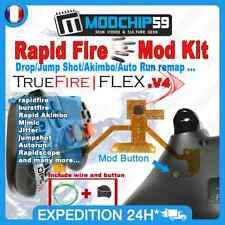 PS4 Rapid Fire Mod chip Kit TrueFire FLEX v4 remap pr manette controller custom