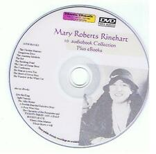Mary Roberts RINEHART Detective Mystery Audiobook eBooks  Mp3 DVD, kindle, iPad