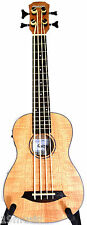 DURBAN QUINCY Ukulele Bass Maple Uke bass electro acoustic size 30 inches