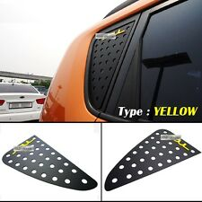 Window Glass C-Pillar Lettering Sport Plate Yellow For KIA 2008-2012 2013 Soul
