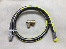 "UNIVERSAL 1/2 "" BAYONET & COOKER HOSE  1.25M / 4FT  SUITABLE FOR LPG"
