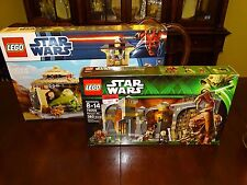 LEGO Star Wars  9516 JABBA'S PALACE  75005 RANCOR PIT  BRAND NEW IN THE BOX