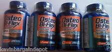LOT OF 4 Osteo Bi-Flex 3X STRENGTH Glucosamine chondroiitin 4 X 170 Caplets