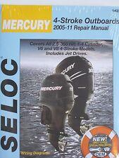 MERCURY OUTBOARD REPAIR MANUAL 2.5 to 350 HP 2005-20011SELOC 1422 4-STROKE