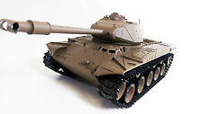 PRE ORDER NEW 2.4Gz US RC 1:16 Heng Long Walker Bulldog Smoking Army R/C Tank