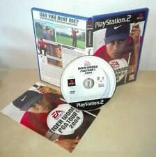 TIGER WOODS PGA TOUR 2004 Sony PlayStation gioco game golf ps2 prima stampa