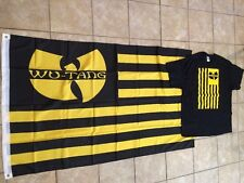 Wu-Tang Flag And T-shirt  Great Deal