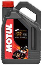 MOTUL Huile lubrifiante 4T 7100 10W50 4T 4L