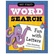 My First Word Search : Fun with Letters by Eden Greenberg (2013, Paperback)
