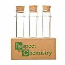 Respect The Chemistry- Spice Rack with Test Tubes Inspired by Breaking Bad