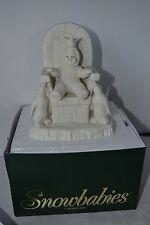 Department 56 Snowbabies Crown Me Retired 2000 #69056 figure in box