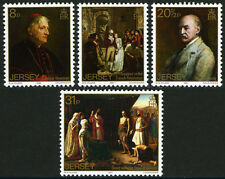 Jersey 316-319, MI 309-312, MNH. Paintings by Walter William Ouless, 1983