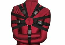 Box-Tie Bondage Harness (X-Style, Double Security Strap, Poly Webbing)