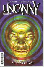 UNCANNY SEASON TWO # 4 VERY FINE PLUS 2015 COVER C SUBSCRIPTION AARON CAMPBELL