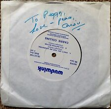 CASSIE COLLINS - DON'T CRY FOR ME ARGENTINA RARE UK 4 TRACK SINGLE VINYL