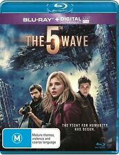 THE 5TH WAVE BLU-RAY NEW SEALED RB 2016 THE FIFTH WAVE